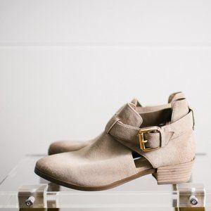Michael Kors Tan Suede Ankle Bootie Women's NWOT